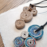 Coiled Paper Jewelry